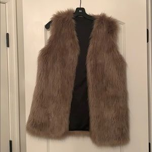 ChicWish Fur Vest size S